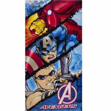 Avengers strandlaken 70 x 140 cm type 2 groot