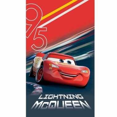 Disney cars lightning mcqueen strand/bad handdoek 70 x 120 cm groot