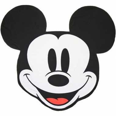 Disney mickey mouse strand/bad handdoek 130 cm groot