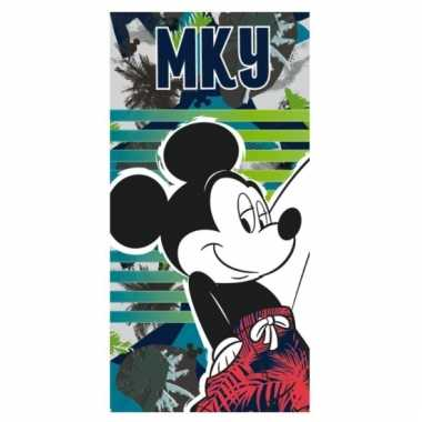 Mickey mouse strandlaken mky groot
