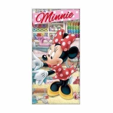 Minnie mouse atelier strandlaken/strandlaken atelier 70 x 140 cm groo