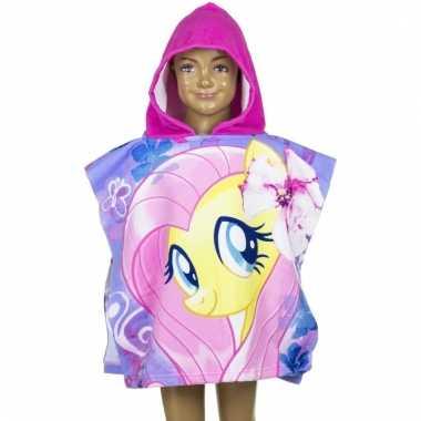 My little pony fluttershy badcape voor kinderen groot