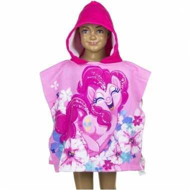 My little pony pinkie pie badcape voor kinderen groot