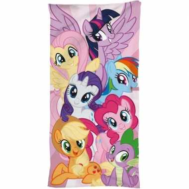 My little pony strand/bad handdoek 70 x 140 cm groot