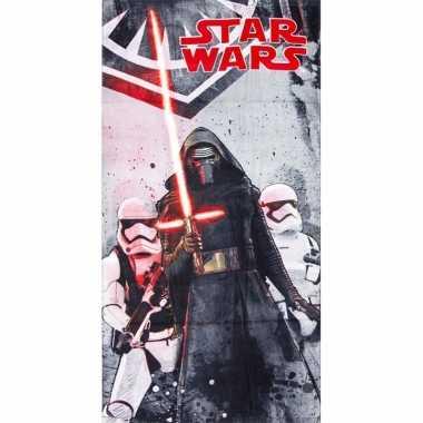 Star wars kylo ren strandlaken 70 x 140 cm groot