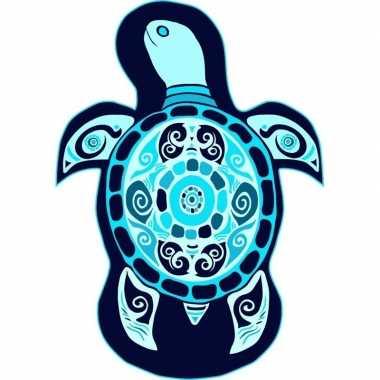 Strandlaken/strandlaken schildpad lorga 120 x 170 cm groot