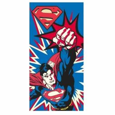 Superman strandlaken groot