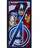Avengers strandlaken 70 x 140 cm type 1 groot