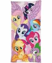My little pony strand bad handdoek 70 x 140 cm groot